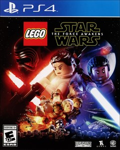 LEGO Star Wars: The Force Awakens PlayStation 4 Box Art