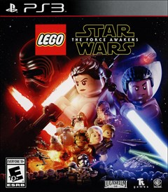 LEGO Star Wars: The Force Awakens PlayStation 3 Box Art