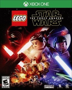 LEGO Star Wars: The Force Awakens Xbox One Box Art