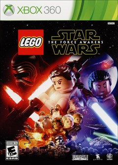 LEGO Star Wars: The Force Awakens Xbox 360 Box Art