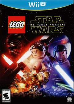 LEGO Star Wars: The Force Awakens Wii U Box Art