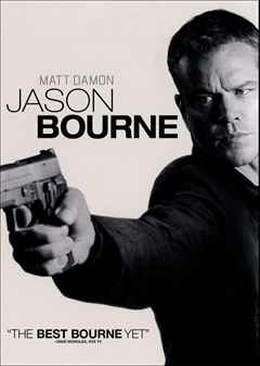 Jason Bourne DVD Box Art