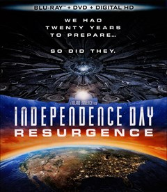 Independence Day: Resurgence Blu-ray Box Art
