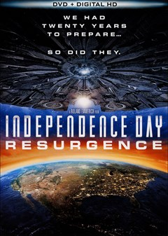 Independence Day: Resurgence DVD Box Art