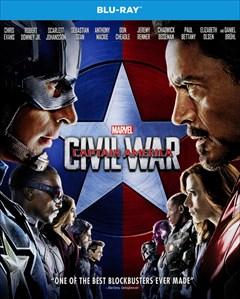 Captain America: Civil War Blu-ray Box Art