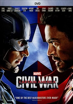Captain America: Civil War DVD Box Art