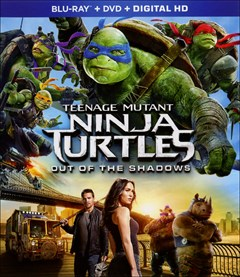 Teenage Mutant Ninja Turtles: Out of the Shadows Blu-ray Box Art