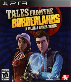Tales from the Borderlands PlayStation 3 Box Art