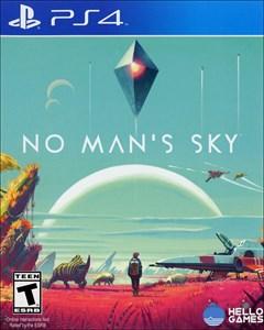 No Man's Sky PlayStation 4 Box Art