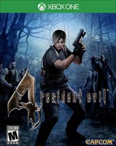 Resident Evil 4 HD Xbox One Box Art