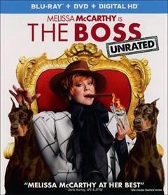 The Boss Blu-ray Box Art