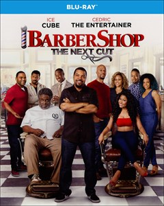 Barbershop: The Next Cut Blu-ray Box Art