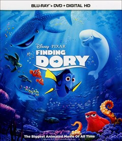Finding Dory Blu-ray Box Art