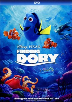 Finding Dory DVD Box Art