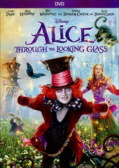 Alice Through the Looking Glass DVD Box Art