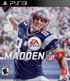 Madden NFL 17 PlayStation 3 Box Art
