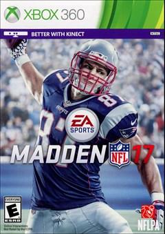 Madden NFL 17 Xbox 360 Box Art