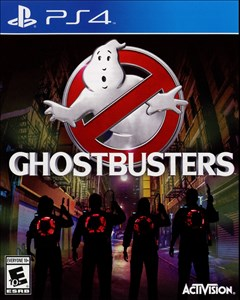 Ghostbusters PlayStation 4 Box Art