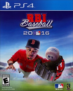 RBI Baseball 2016 PlayStation 4 Box Art