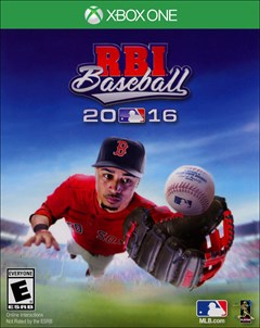 RBI Baseball 2016 Xbox One Box Art