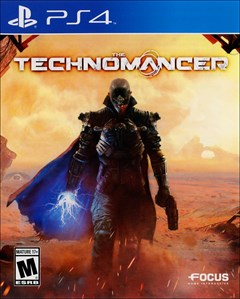 The Technomancer PlayStation 4 Box Art