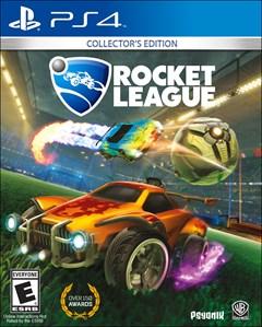 Rocket League: Collector's Edition PlayStation 4 Box Art