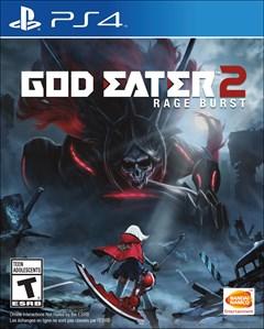 God Eater 2: Rage Burst PlayStation 4 Box Art