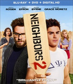 Neighbors 2: Sorority Rising Blu-ray Box Art