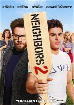 Neighbors 2: Sorority Rising DVD Box Art