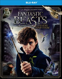 Fantastic Beasts and Where to Find Them Blu-ray Box Art