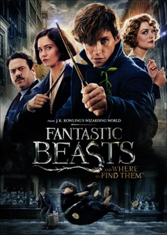 Fantastic Beasts and Where to Find Them DVD Box Art
