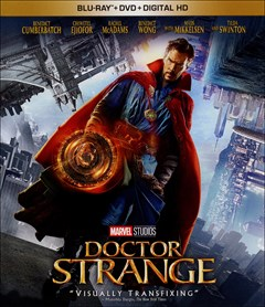 Doctor Strange Blu-ray Box Art