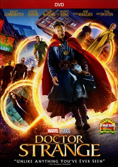 Doctor Strange DVD Box Art