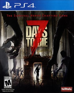 7 Days to Die PlayStation 4 Box Art