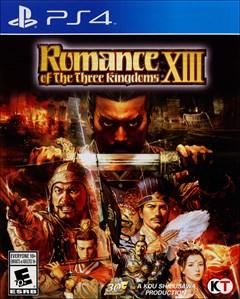 Romance of the Three Kingdoms XIII PlayStation 4 Box Art