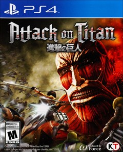 Attack on Titan PlayStation 4 Box Art