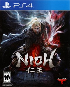 Nioh PlayStation 4 Box Art