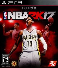 NBA 2K17 PlayStation 3 Box Art