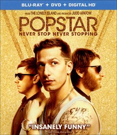 Popstar: Never Stop Never Stopping Blu-ray Box Art