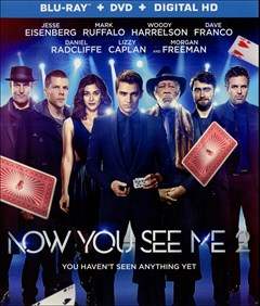 Now You See Me 2 Blu-ray Box Art