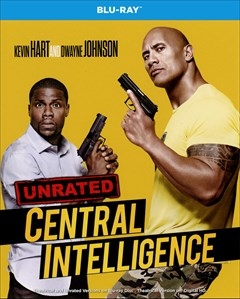 Central Intelligence Blu-ray Box Art
