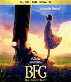 The BFG Blu-ray Box Art
