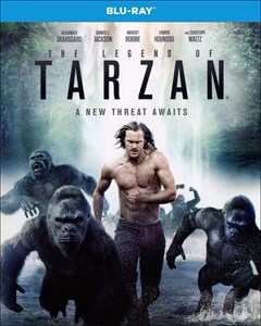 The Legend of Tarzan Blu-ray Box Art