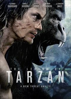 The Legend of Tarzan DVD Box Art