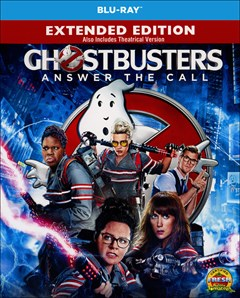 Ghostbusters (2016) Blu-ray Box Art