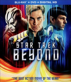 Star Trek Beyond Blu-ray Box Art