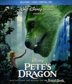 Pete's Dragon Blu-ray Box Art