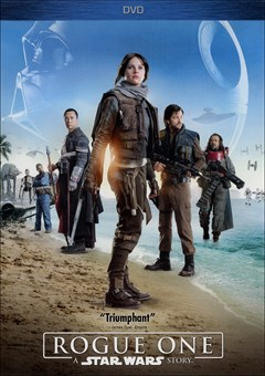 Rogue One: A Star Wars Story DVD Box Art