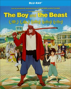 The Boy and the Beast Blu-ray Box Art