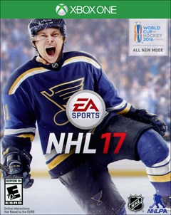 NHL 17 Xbox One Box Art